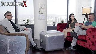 TOUGHLOVEX Dr Karl shows Charles howsoever to make her cum